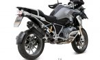 Mivv SPEED EDGE izpuh Steel Black BMW R 1200 GS Adventure 90 Jahre ABS  K255 2013